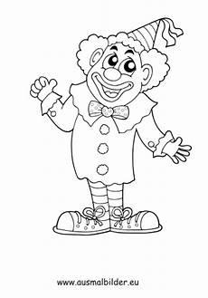 Ausmalbilder Zirkusclown Ausmalbild Lachender Clown Kostenlos Ausdrucken