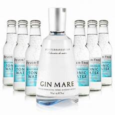 gin tonic mischen gin tonic set lx gin mare fever tree mediterranean