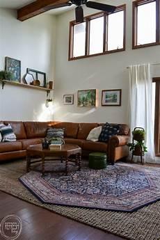 Eclectic Vintage Modern Living Room Makeover Refresh Living