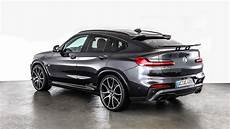 ac schnitzer bmw x4 packs more power and presence
