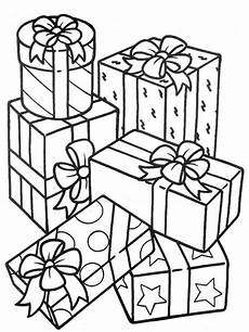 stack of gifts coloring page coloring sky