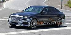 2018 Mercedes C Class Facelift Spied Inside And Out