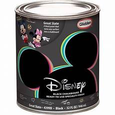 disney great slate chalkboard black interior specialty paint 1 quart walmart com