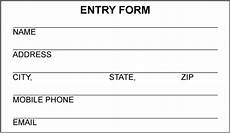 28 images of drawing raffle entry form template bfegy com