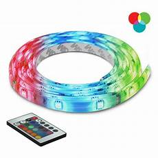 bazz 10 ft multi color self adhesive cuttable rope lighting with remote control u00035rg the