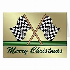 merry christmas racing images racing chequered flag merry christmas card zazzle