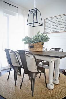 new rustic metal and dining chairs