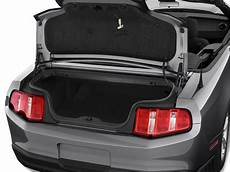Image 2010 Ford Mustang 2 Door Convertible Trunk Size