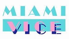 miami vice logo miami vice nbc