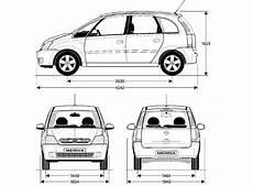 Opel Meriva A 2003 Blueprint Opel Opel Meriva