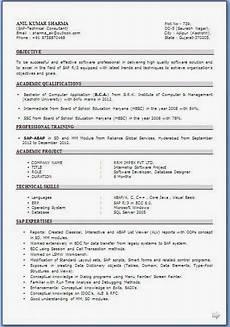 resume format resume format download for bca