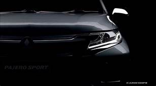 New 2016 Mitsubishi Pajero Sport Gets Fresh Teasers