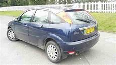 2003 ford focus 2 0 ghia saloon automatic petrol car for sale ford focus ghia 2 0 16v petrol 5 door hatchback blue 2003 5 speed man
