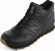 new balance mens 574 mid cut leather shoes