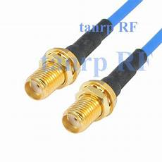 15cm coaxial blue jacket jumper extension cable rg405 6in sma to sma