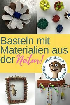 basteln mit materialien aus der natur kastanien
