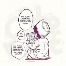 Gambar Komik Islami Hitam Putih Sarat Makna Moon