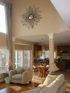Decorating Ideas For Vaulted Ceiling Living Rooms by Fireplace Mantel Decorating Help Needed In 2019