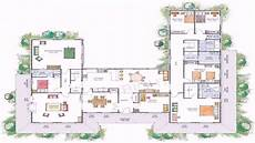 u shaped house floor plans house plans u shaped floor plan see description youtube