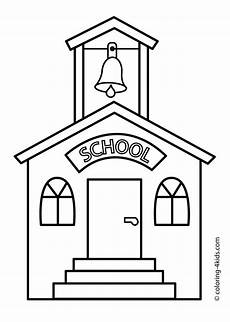 school coloring pages 17623 school building coloring page classes coloring page for printable free подушки