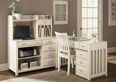 white home office furniture collections antique white l shaped desk the hton bay collection