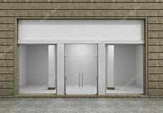 magasin de fenetre devanture de magasin de vide de moderne avec grande