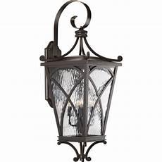 progress lighting cadence collection 4 light rubbed bronze outdoor wall lantern p6640 108