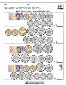 money worksheets australian