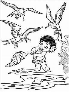 Malvorlagen Vaiana Bahasa Indonesia Vaiana Moana Zum Ausmalen F 252 R Kinder 7