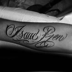 40 Forearm Name Tattoos For Manly Design Ideas