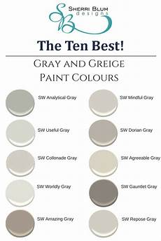 ten best gray paint colors blum artist nursery interior designer stager