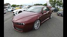 alfa romeo 159 lowered tuning show car vossen wheels