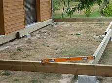 Construction D Une Terrasse En Bois Construction D Une Terrasse En Bois Mise 224 Niveau De La