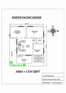 vastu plans for north facing house north facing house plan as per vastu shastra in 2020