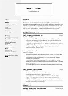 sales manager resume exles writing tips 2020 free