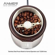Kaffee Mahlen Thermomix - anmer cg 8120 elektrische kaffeem 252 hle zum mahlen