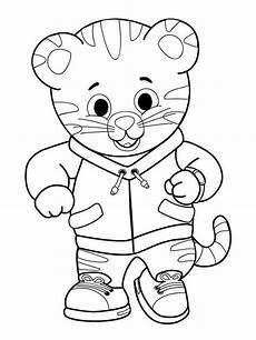 daniel tiger sheets 12 free printable daniel tiger s neighborhood coloring pages
