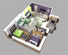 50 3d floor plans lay out designs for 2 bedroom house or apartment simplicity and abstraction