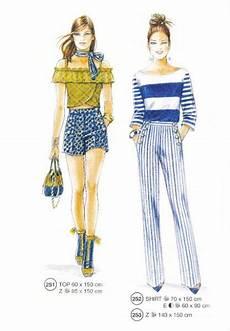 302 05 Illustration Mode Stilvolle Und Vintage Mode