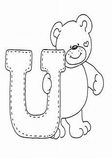 Ausmalbilder Buchstaben U Buchstaben U Ausmalbilder