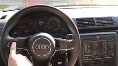 2004 audi s4 b6 with 2017 tt 8s multifunction steering wheel youtube
