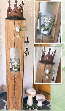 altholz holz deko herbst natur holzlaterne alte holzbalken