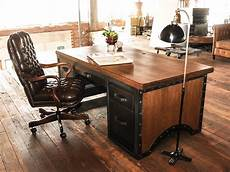 vintage home office furniture desks vintage industrial furniture