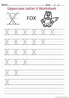 letter x traceable worksheets 24337 trace the uppercase letter x worksheet for firstgrade and kindergarten preschool crafts