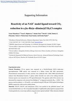 reactivity of a fac recl diimine co 3 complex with an