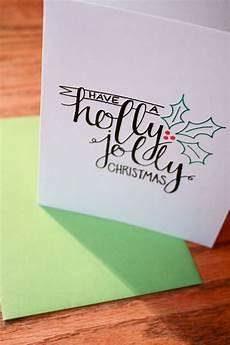 jolly lettering card 2 50 via etsy