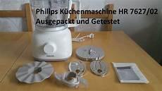 philips k 252 chenmaschine hr 7627 02 ausgepackt und getestet