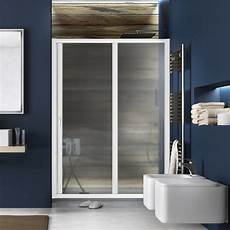 boc doccia box doccia nicchia 120 a 130 cm scorrevole profilo bianco