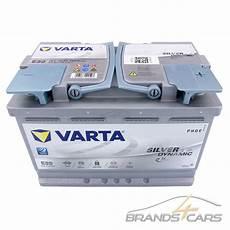 Varta Silver Dynamic 12v 70ah 760a Agm Start Stop Auto