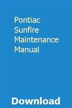 free online car repair manuals download 1992 pontiac grand am parking system pontiac sunfire maintenance manual repair manuals pontiac sunfire manual
